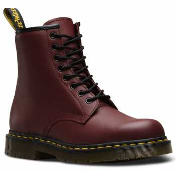 Dr. Martens DMR24382600 1460 Originals 8-Eye, Unisex, Red Cherry, EH, Slip Resistant, 6 Inch Boot