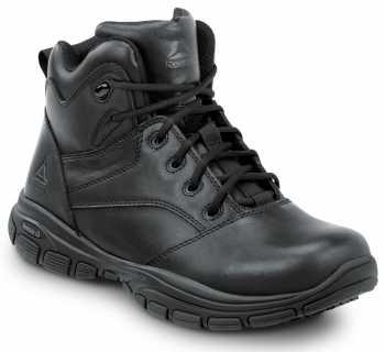 Reebok SRB1250 Senexis, Black, Men's Hi Top Athletic Style Slip Resistant Soft Toe Work Shoe