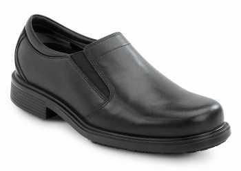 Rockport Works SRK6595 Men's Ontario, Black, Twin Gore Dress Style Slip Resistant Soft Toe Work Shoe