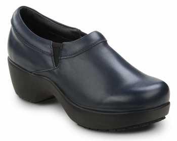 SR Max SRM130 Geneva Blue, Women's, Clog Style Slip Resistant Soft Toe Work Shoe