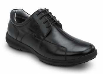 SR Max SRM3700 Atlanta, Men's, Black, Dress Style Soft Toe Slip Resistant Work Shoe