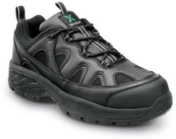 SR Max SRM4400 Walden, Unisex, Black, Athletic Style Steel Toe, EH, Slip Resistant Work Shoe