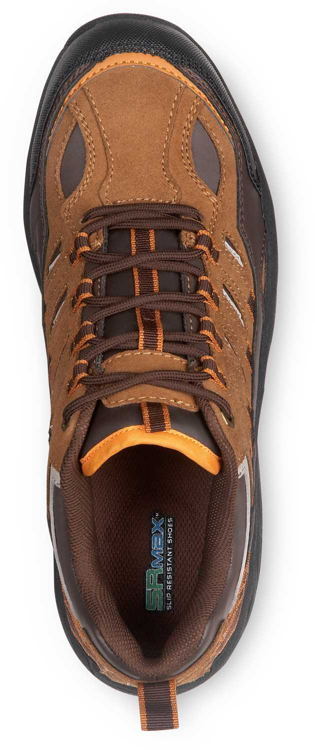 SR Max SRM4650 Boone, Men's, Brown, Low Hiker Style Comp Toe, EH, Slip Resistant Work Shoe