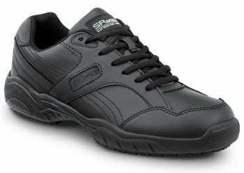 SR Max SRM6100 Dover, Men's, Black, Athletic Style Soft Toe Slip Resistant Work Shoe