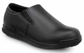 SR Max SRM641 Ashland, Women's, Black, Slip On Oxford Style Soft Toe Slip Resitant Work Shoe