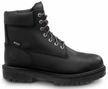 Timberland PRO STMA1W52 Men's Direct Attach, Black, Steel Toe, EH, Slip Resistant, WP, 6 Inch