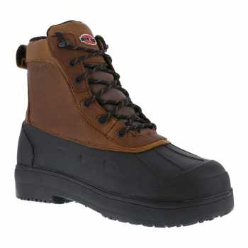 Iron Age WGIA965 Brown/Black Comp Toe, EH, Waterproof Women's Boot