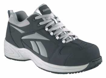 Reebok WGRB182 Navy/Silver Comp Toe, EH, Women's Street Sport Jogger Oxford
